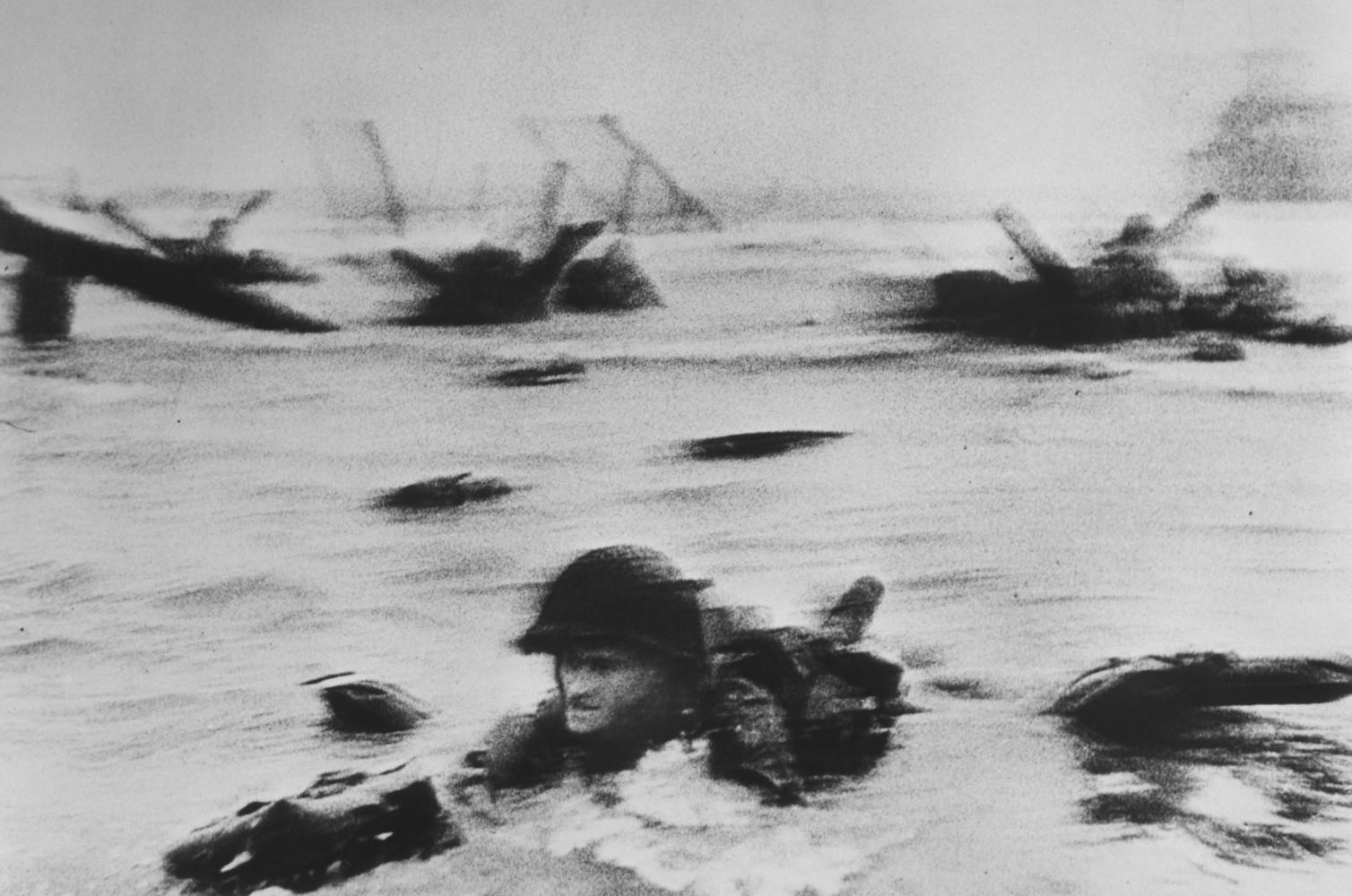 D-Day and the Omaha Beach landings • Robert Capa • Magnum Photos