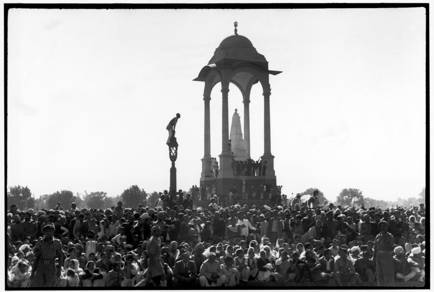 India and the Death of Mahatma Gandhi • Henri Cartier-Bresson • Magnum Photos