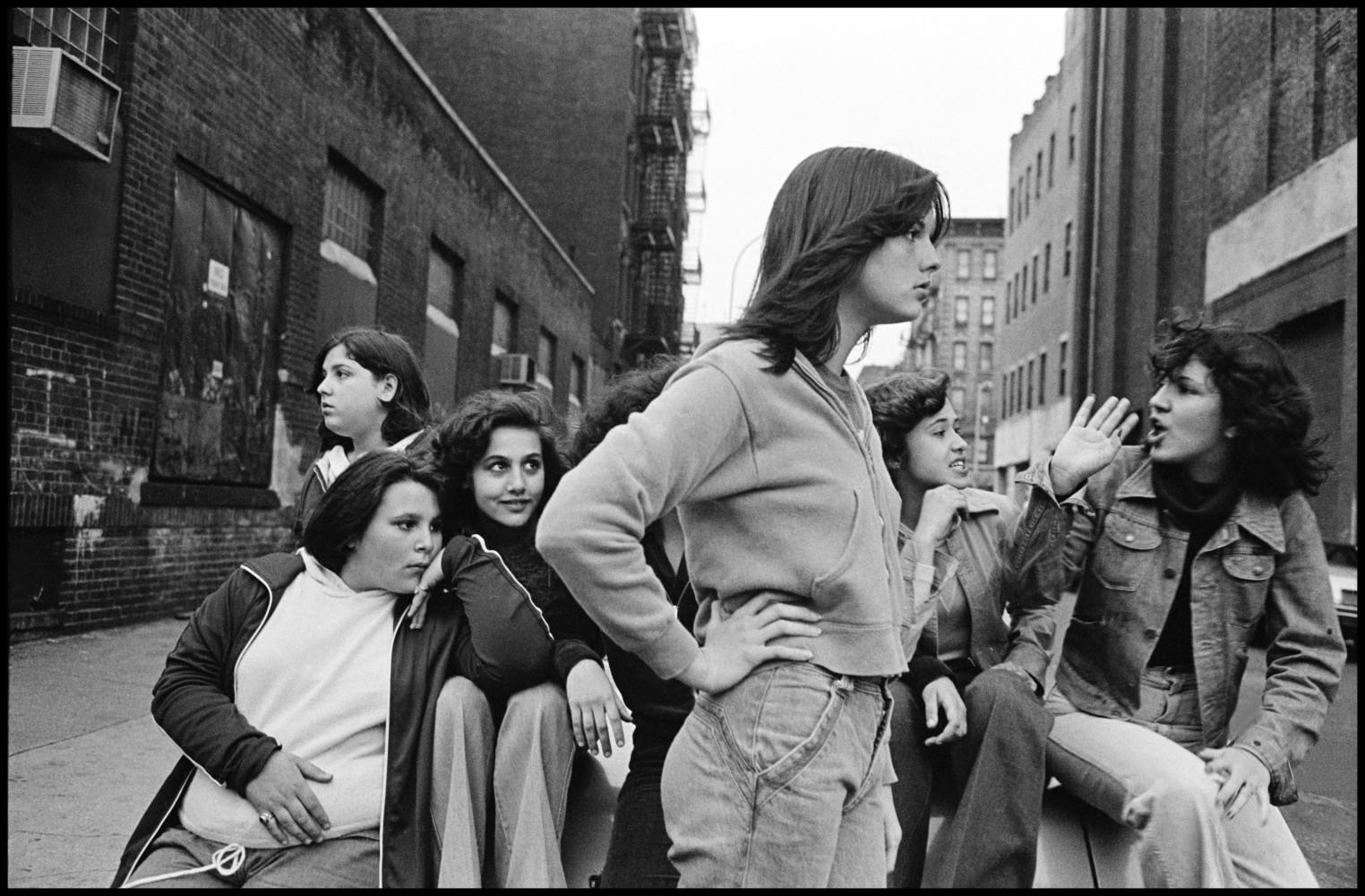 Prince Street Girls • Susan Meiselas