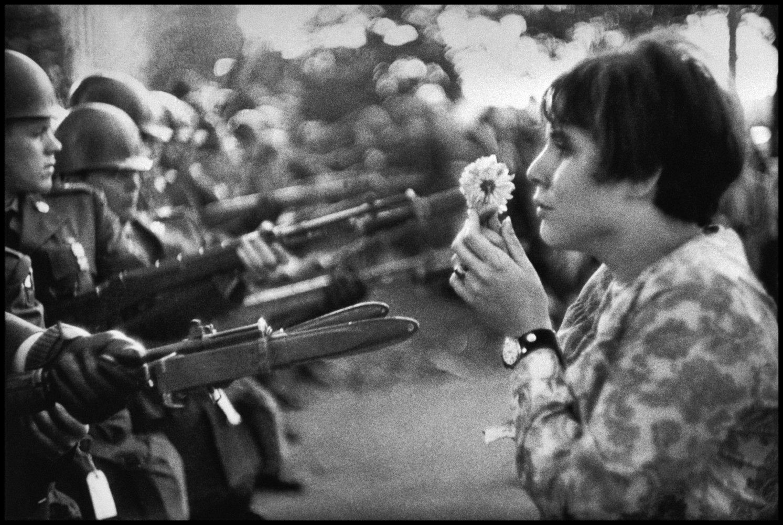 magnumphotos.com - Behind the Image: Protesting the Vietnam War with a Flower • Marc Riboud •Magnum Photos