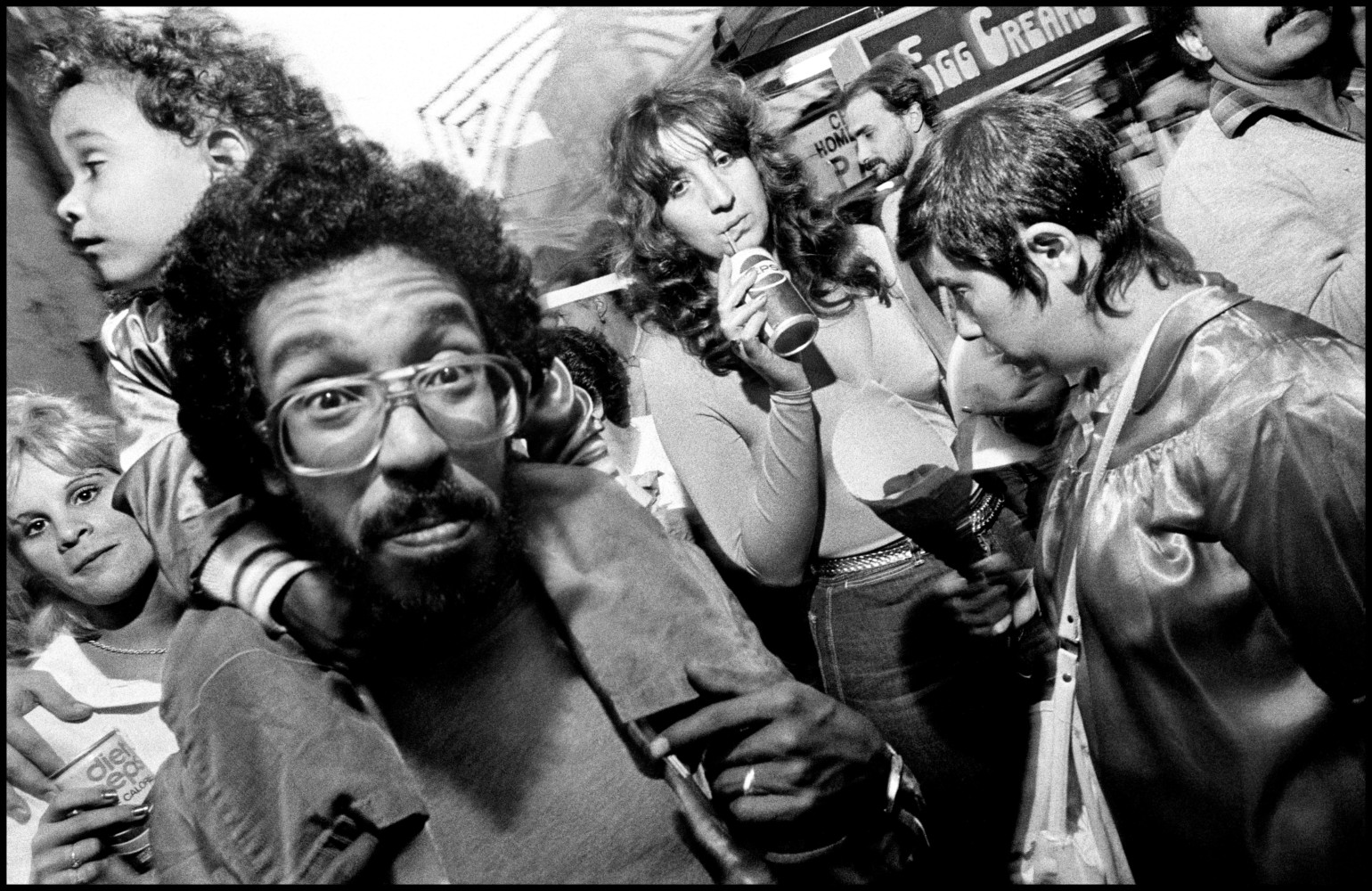 New Yorkers and Childhood Inspirations • Bruce Gilden • Magnum Photos