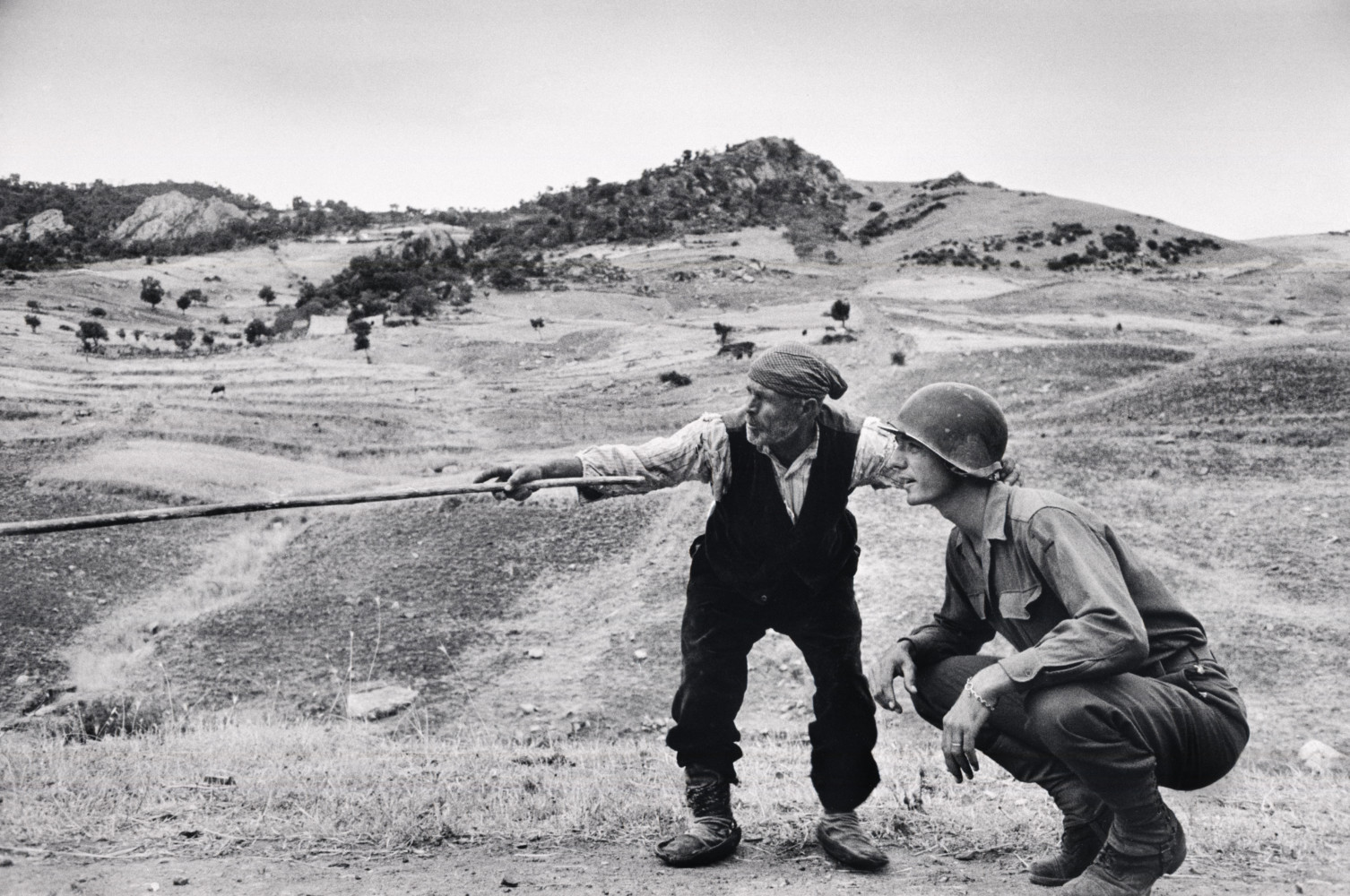 The 75th Anniversary of Operation Husky: the Allied Invasion of Sicily • Robert Capa