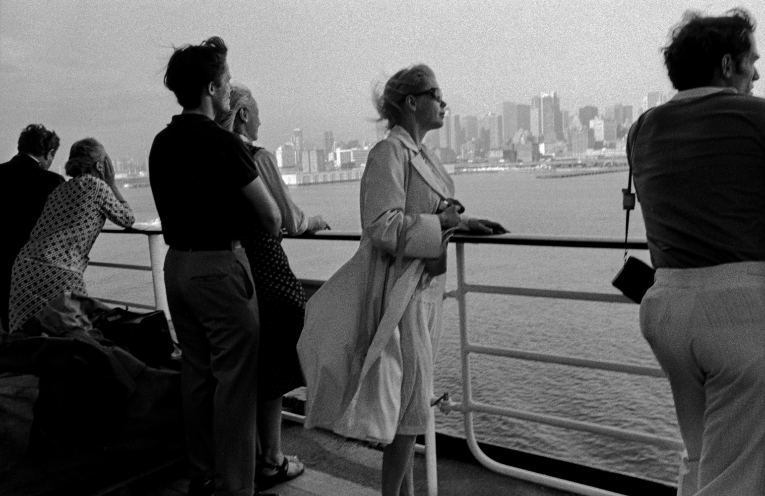 All Aboard the QE2 • Magnum Photos