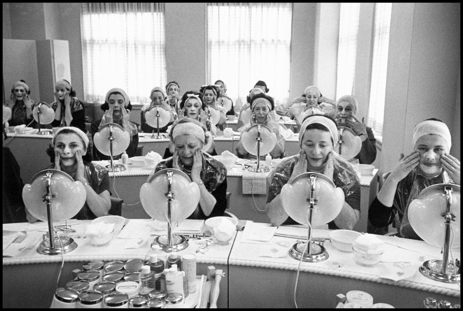 Inside Madame Helena Rubinstein's Beauty School • Inge Morath