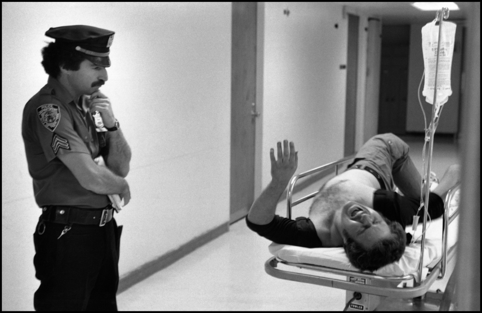 Making the Image: Leonard Freed's Work on the NYPD | Magnum Photos